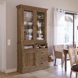 Armoire South Sanford marron vieilli