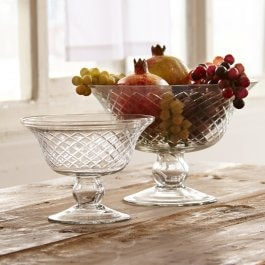 Lot de 2 coupes Kadence transparent