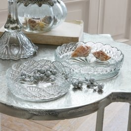 Lot de 2 coupes Florent transparent