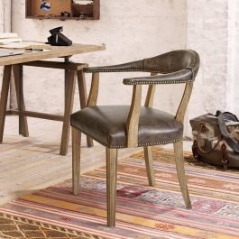 Chaise Heaton marron