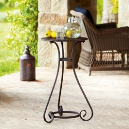 Table d'appoint Savigny marron