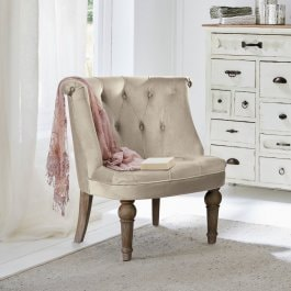 Fauteuil Ardilleux champagne
