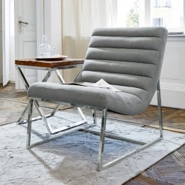 Fauteuil Chino gris