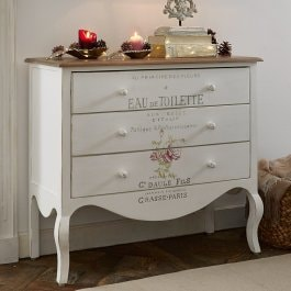 Commode Abbi blanc