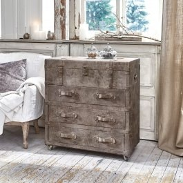 Commode Montserrat marron