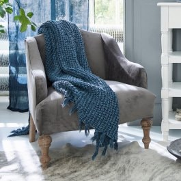 Fauteuil Mallgory gris