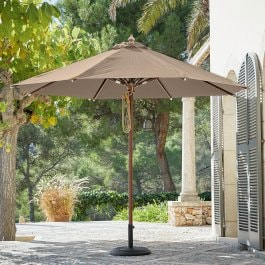 Parasol Brent taupe