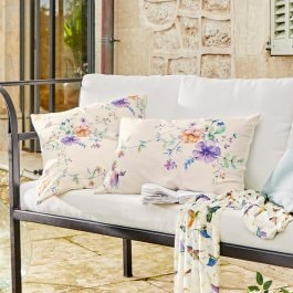 Lot de 2 coussins Sovicille multicolore