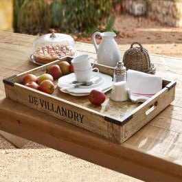 Plateau Villandry marron