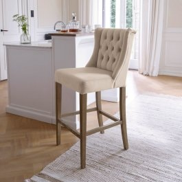 Chaise Carbay crème