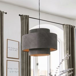 Suspension Achain gris