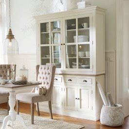 Buffet Morningside blanc vieilli