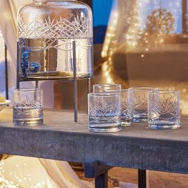 Lot de 6 verres Hagens transparent