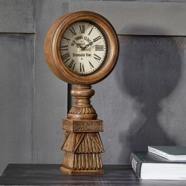Horloge Selly marron