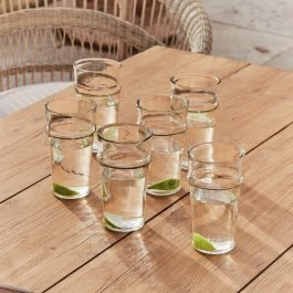 Lot de 6 verres Avrilla transparent