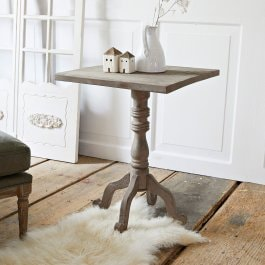 Table d'appoint Tempra marron vieilli