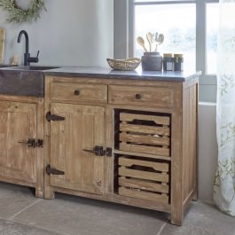 Buffet Wiltshire marron
