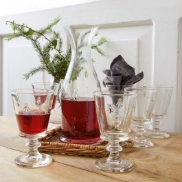 Lot de 6 verres à vin Puttigny transparent