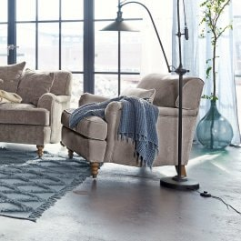 Fauteuil Isa gris