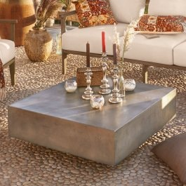 Table basse Cromwell gris