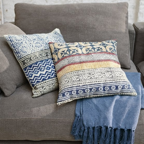 Lot de 2 coussins Maelle multicolore
