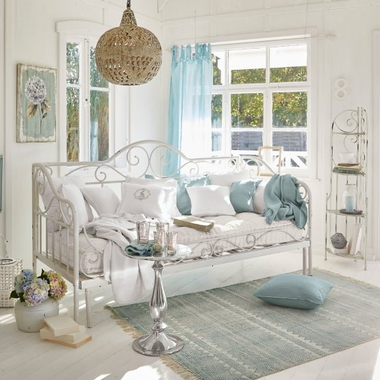 Banquette Maditha blanc