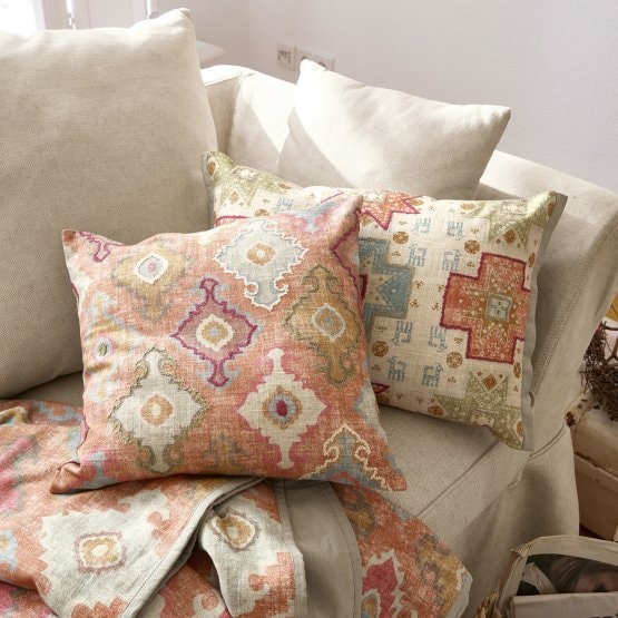 Lot de 2 coussins Rignac multicolore