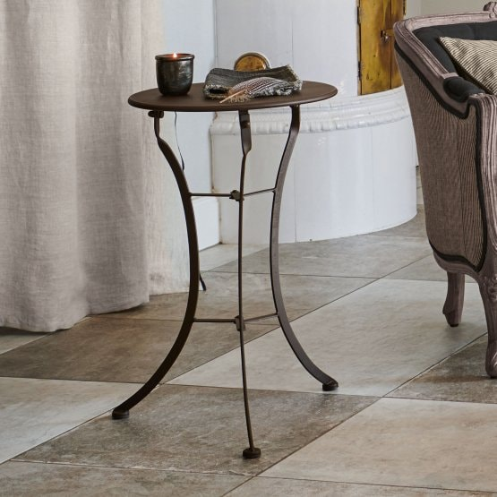 Table d'appoint Torrance marron