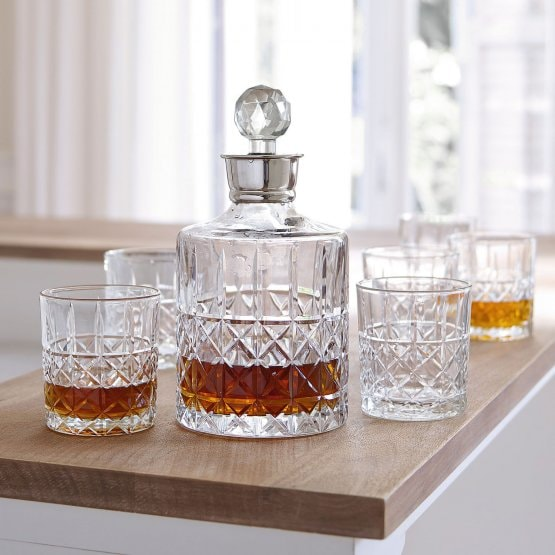 Lot de 6 verres à whisky Ramon transparent