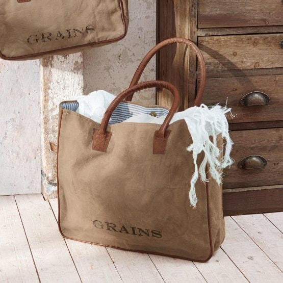 Sac Grains kaki