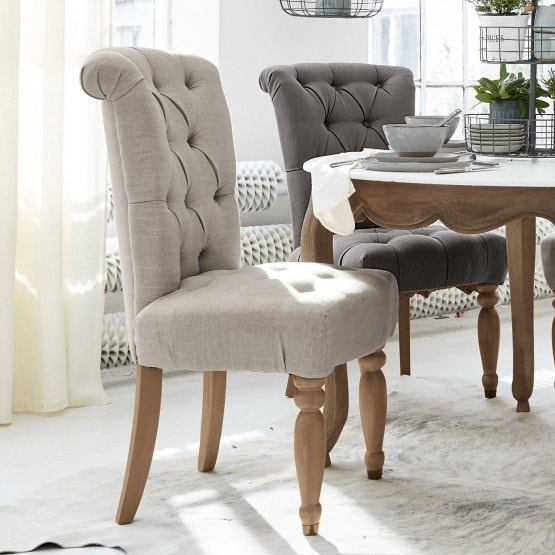 Chaise Claville lin