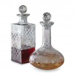 Lot de 2 carafes Dairine transparent